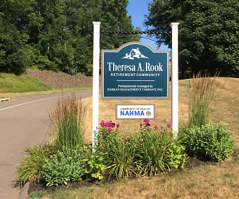 Community Signage, Theresa A. Rook Retirement Community