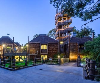 Evening is a beautiful time at Mariners Village Apartment Homes, Mariners Village
