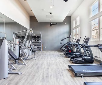 Fitness Weight Room, Ageno Apartments