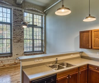 Kitchen, Lofts at Sterling Mill