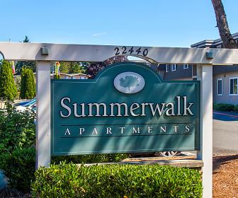 Community Signage, Summerwalk Villa