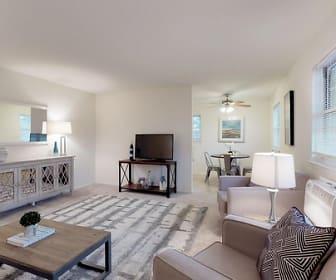 Living Room, Whitehall Apartments