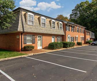 Johnsborough Court, Forsyth Technical Community College, NC