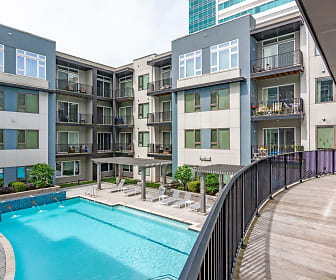 Pool, Encore 4505 at Town Center Apartments