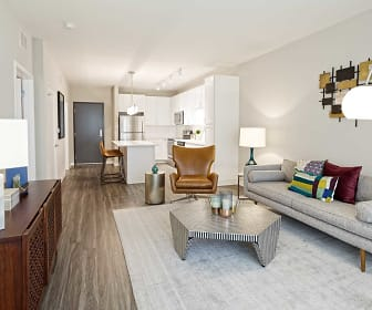 Living Room, Oxbo Apartments