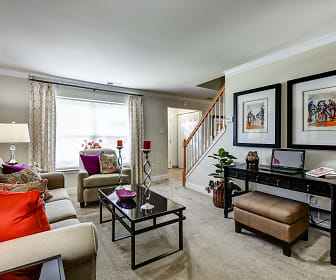 Living Room, Townline Townhomes