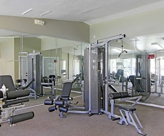Fitness Weight Room, Preserve at Cedar River