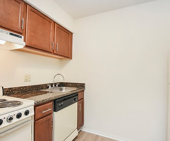 Kitchen, Willowood Apartments