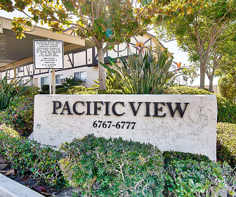 Community Signage, Pacific View Apartments