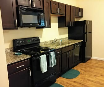 Kitchen, Lofts at 525