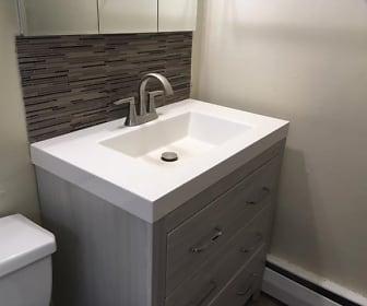 Bathroom, Brook Haven Apartments