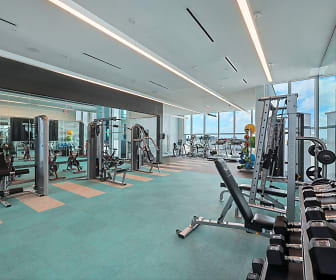 Fitness Weight Room, Quadro