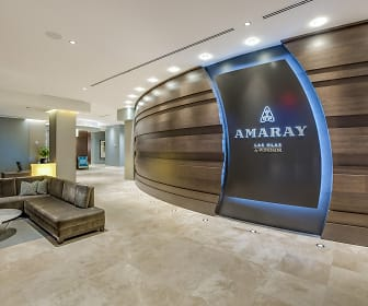 Our lobby welcomes you and your guests and our personal concierge is here to assist you, Amaray Las Olas by Windsor