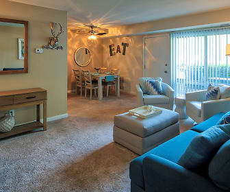 Living Room, North Shore Gardens Apartments