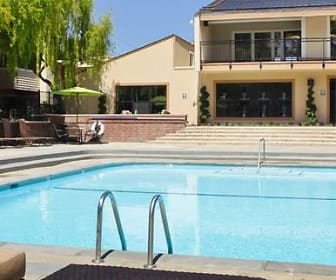 Pool, eaves Foster City