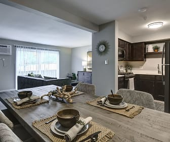 Dining Room, Westmont Village Apartments