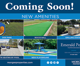 Emerald Pointe Townhomes, Hershey, PA