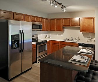Kitchen, Tuscany Apartments