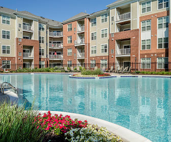 Free-form Pool and Outdoor Living Areas, Serenity Place at Dorsey Ridge
