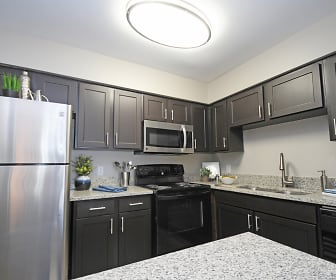 Kitchen, Cabana Apartments