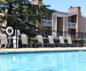 Pool, Fox Hollow Apartments