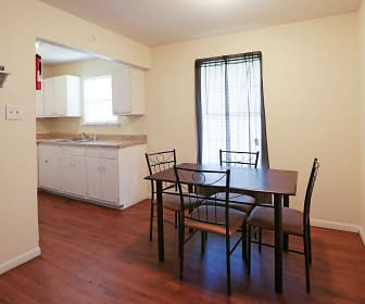 Dining Room, Camellia Apartments