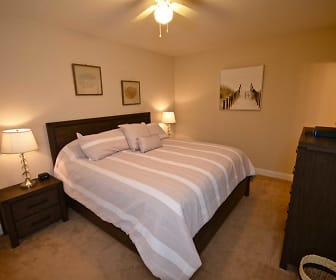 Bedroom, Market Street Flats