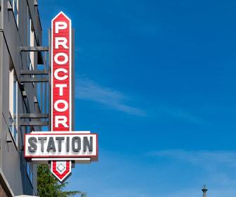Community Signage, Proctor Station