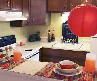 Kitchen, Kingston Green Apartments