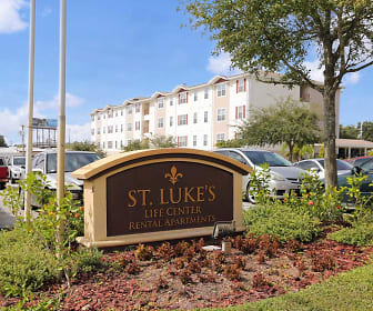 Community Signage, St. Luke's Life Center