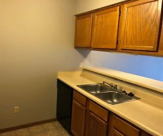 Kitchen, 1006 Oakcrest Street Apt 201