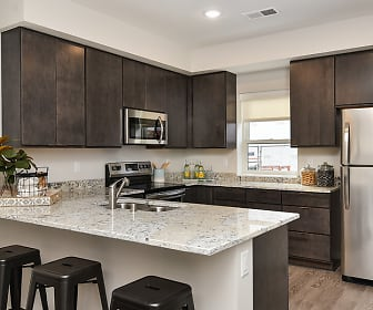 Kitchen, Henley Townhomes