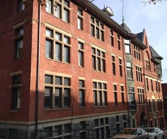 Building, Brighton Court
