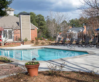 Pool, The Arbors Apartments