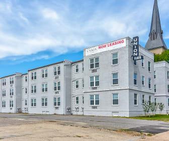 Union Flats, Vernon Johns Junior High School, Petersburg, VA