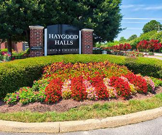 Community Signage, Haygood Halls