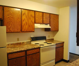 Kitchen, School Street Apartments