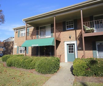 Building, Ashley Trace Apartments