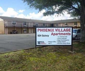 Community Signage, Phoenix Village Apartments