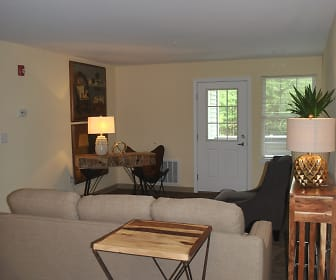 Living Room, Village At Clark Brook Apartments