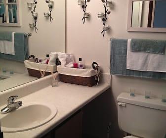 Bathroom, Willow Creek Apartments