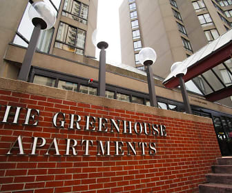 Community Signage, The Greenhouse Apartments