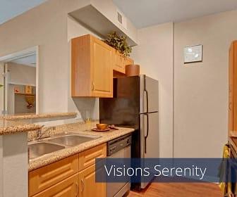 Kitchen, Visions Apartment Homes