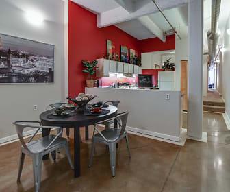 Dining Room, St. Clair Lofts