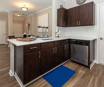 Kitchen, Windsor Townhomes and Apartments