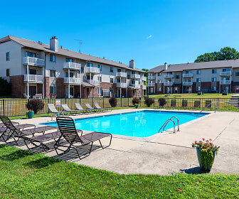 Sparkling Swimming Pool, Eastland Apartments