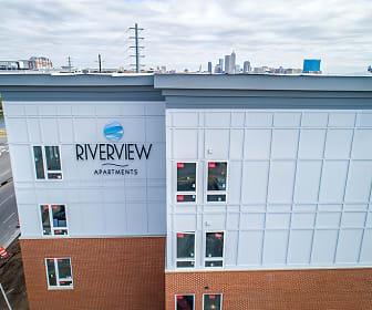 Building, Riverview Apartments