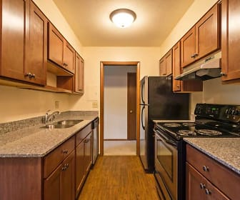 Kitchen, Sela St. Louis Park Apartments