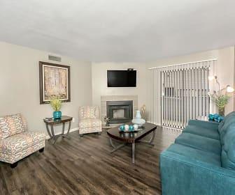 Living Room, Pecan Ridge Apartments