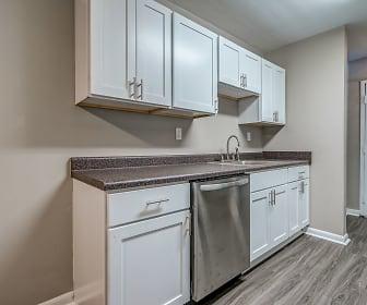 Kitchen, Ridgewood Village Apartments